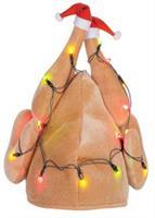 Christmas Turkey Hat Light Up