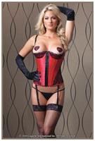 Red And Black Bustier