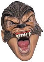 Wolfman Chinless Adult Mask