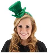 St Patrick's Cocktail Hat Green