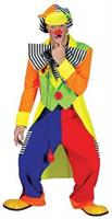Spanky Stripes Adult Clown Costume