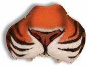 Nose Jungle Tiger With Elastic