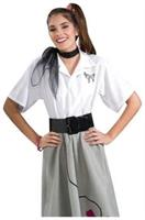 Poodle Blouse Adult Med 6-10