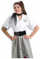 Poodle Blouse Adult Xl 16-20