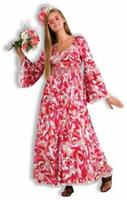 Flower Child Dress Adult Costume