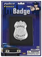 Badge Police With Wallet