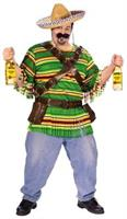 Tequila Pop N' Dude Adult Plus Size Costume