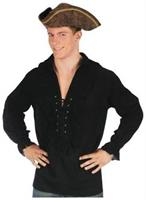 Shirt Fancy Black Pirate