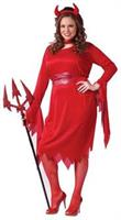 Devil Adult Plus Size Costume