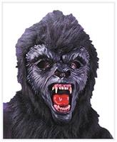 Gorilla  Deluxe  Mask With Teeth
