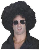 Black High Afro Wig