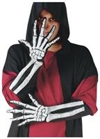 Skeleton Glove And Wrist Bone Gloves