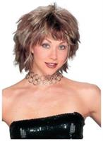 Brown Choppy Layered Women Wig