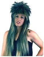 Rocker Frosted Wig