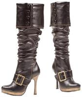Boot Knee High Black Size