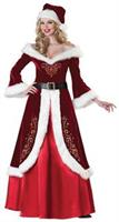 Mrs St Nick Santa Costume