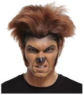 Wolfman Dark Brown Brown Wig