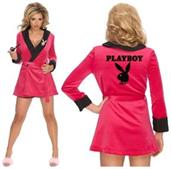Playboy Pink Sexy Girlfriend Rob Costume