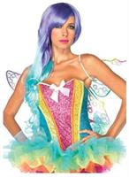 Rainbow Sequin Adult Corset