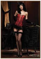Corset Betty Black/Red