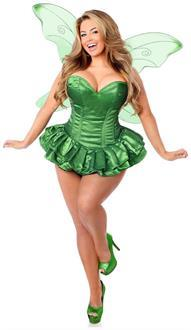 top drawer 2 pc glitter fairy corset dress costume