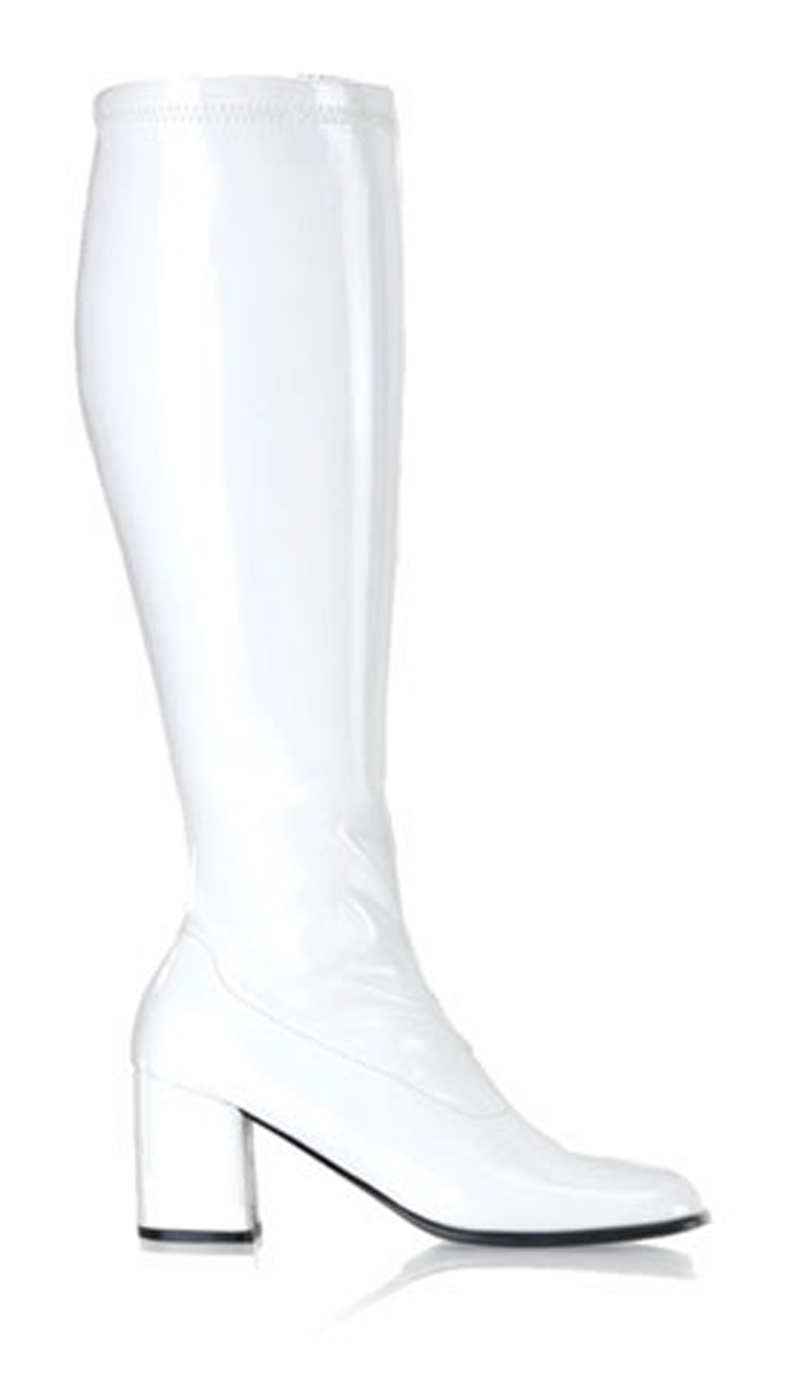 Gogo (White) Adult Boots Wide Width