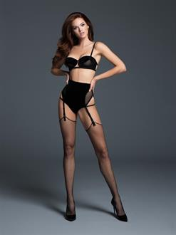 ADORE CHLOE THE LOVE AFFAIR BALCONETTE BRA AND PANTY WITH GARTERS