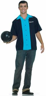 King Pin's Bowling Shirt Adult Costume