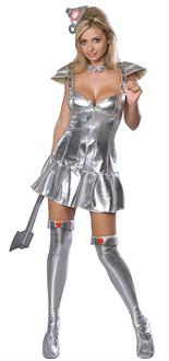 The Wizard of Oz: Women's Tin Woman Adult Costume