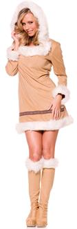 Eskimo Kisses Adult Costume