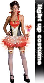 Queen of Heartbreakers (Light-Up) Adult Costume