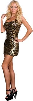 Leopard Starter Dress Adult Costume
