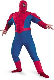 Spider-Man Classic Muscle Adult Plus Costume