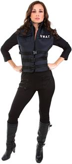 Lady SWAT Adult Costume