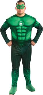 Green Lantern Movie - Deluxe Hal Jordan Adult Plus Costume