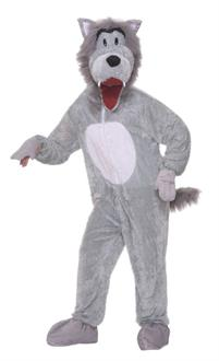 Story Book Wolf Plush Adult Costume