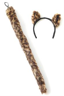 Cougar Ears and Tail Accessory Kit (Adult)
