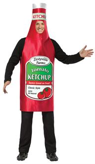 Zestyville Ketchup Adult Costume