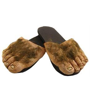Big Ol Hairy Feet Adult Costume
