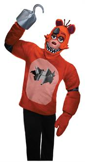 Five Nights at Freddys: Foxy Teen Costume