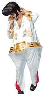The King Hoopster Adult Costume
