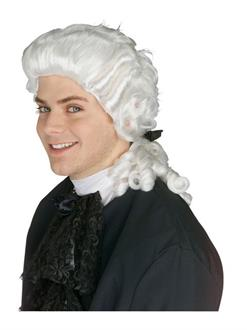 Colonial White Adult Wig