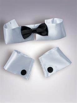 Collar, Cuff And Tie Adult Set