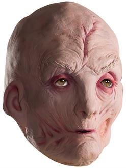 Star Wars Episode VIII - The Last Jedi Men's Supreme Leader Snoke 3/4 Vinyl Mask