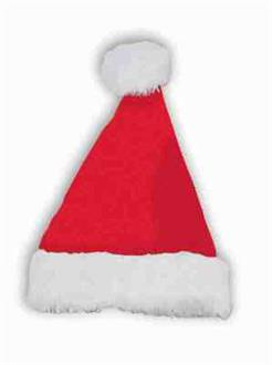 Plush Adult Santa Hat