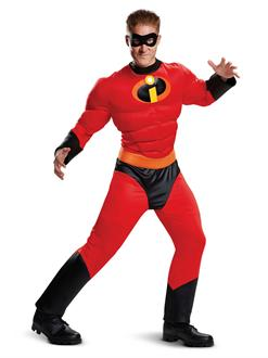 Incredibles 2 Mr. Incredible Classic Muscle Adult Costume