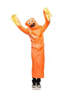 Wild Waving Tube Guy Adult Costume