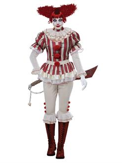 Sadistic Clown Women's Costume