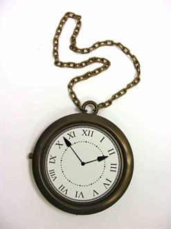 Rappers Clock Necklace