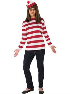 Where's Waldo Cuvry Wenda Costume